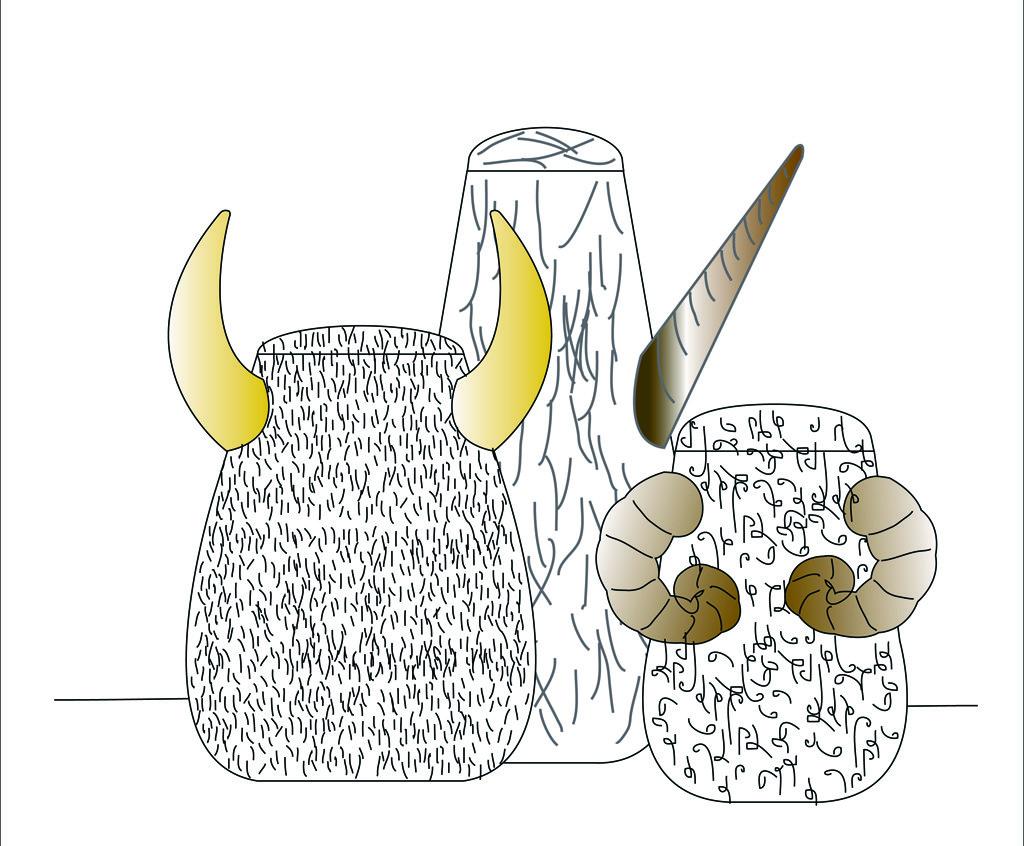 Sam Baron, Ariete, Unicorno, Toro