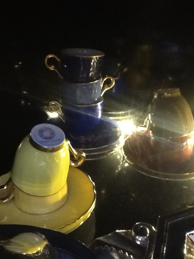 UNICORNO ROMA TAZZE-CAFFE-IN-PORCELLANA-DI-LIMOGES-