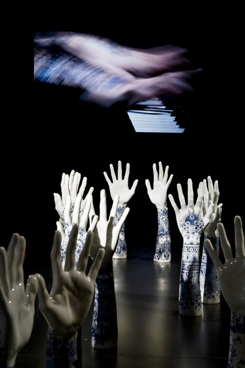 Fragile Fingers on a Grand PIano Marcel Wanders Personal Editions