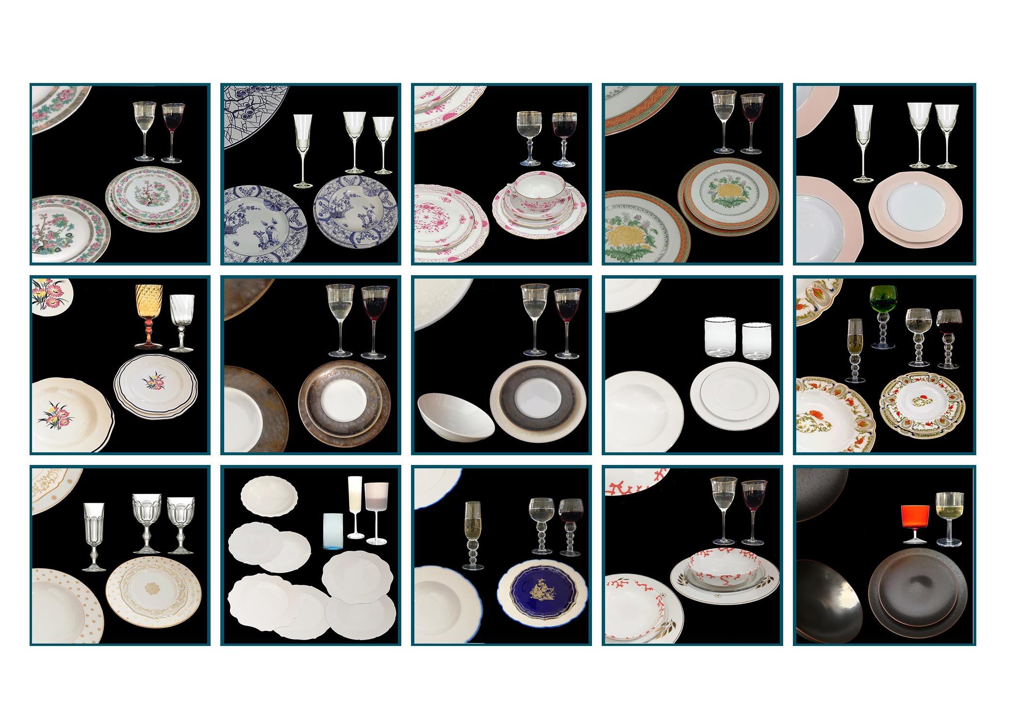 alt=noleggio piatti-noleggio bicchieri-art de la table-unicorno roma-francesca ragazzoni